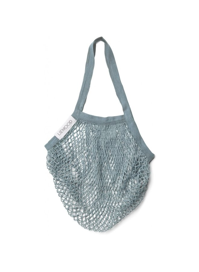 Liewood - Mesi Mesh Tote Bag - Sea Blue