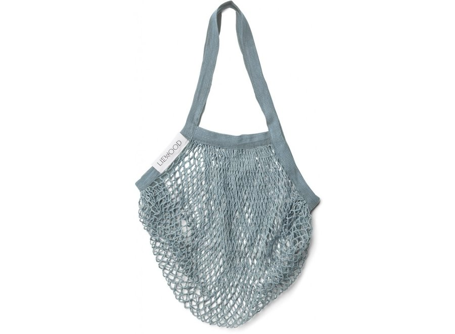 Liewood - Mesi Mesh Tote Bag - Sea Blue