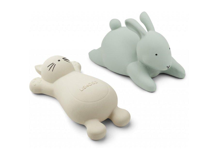 Geboortelijst Stéfanie - Liewood - Vikky bath toys - 2 pack