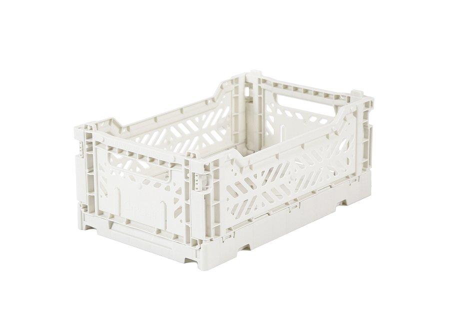 Geboortelijst Annelies - Lillemor - Folding Crate 'Coconut' - Mini