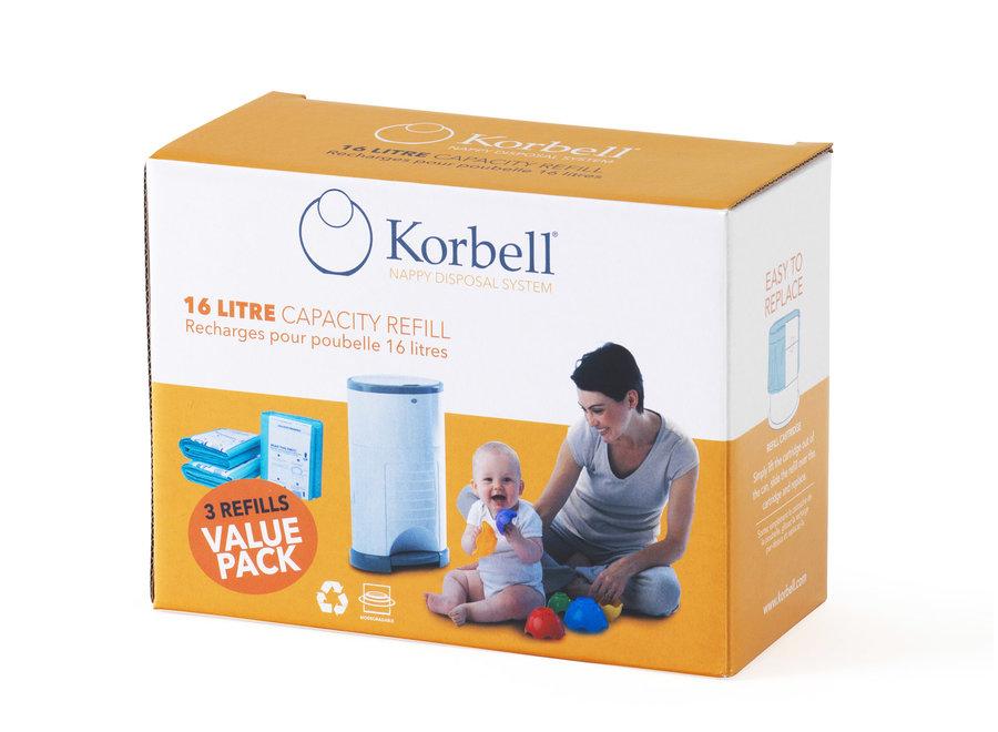 Geboortelijst Annelies - Korbell - Refill (3 pack)