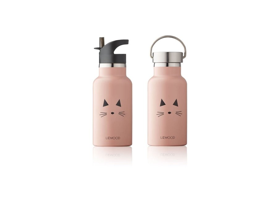 Geboortelijst Annelies - Liewood - Anker bottle - Cat Rose