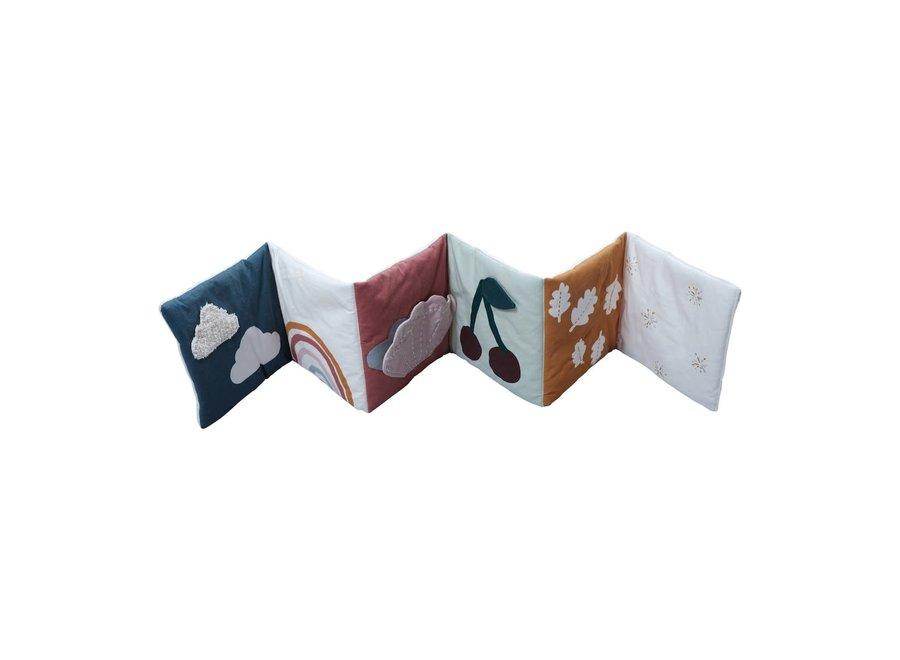 Geboortelijst Annelies -  Fabelab - Fabric Book - Nature Adventure