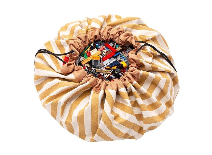 Geboortelijst Annelies -  Play & Go - Stripes Mustard