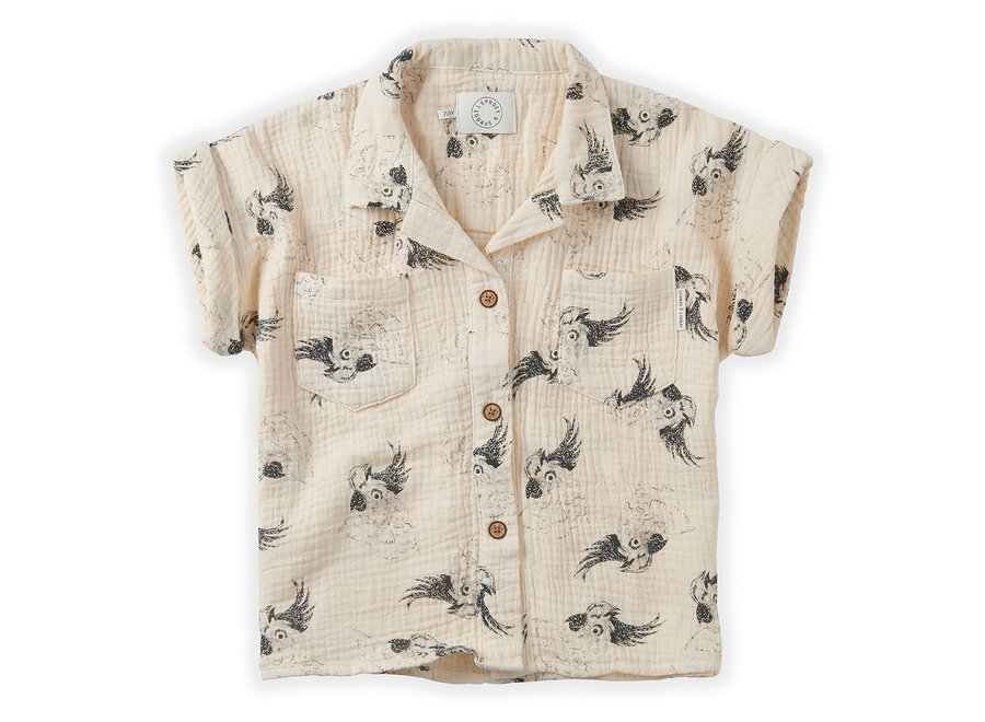 Sproet & Sprout - Hawai Shirt Cockatoo