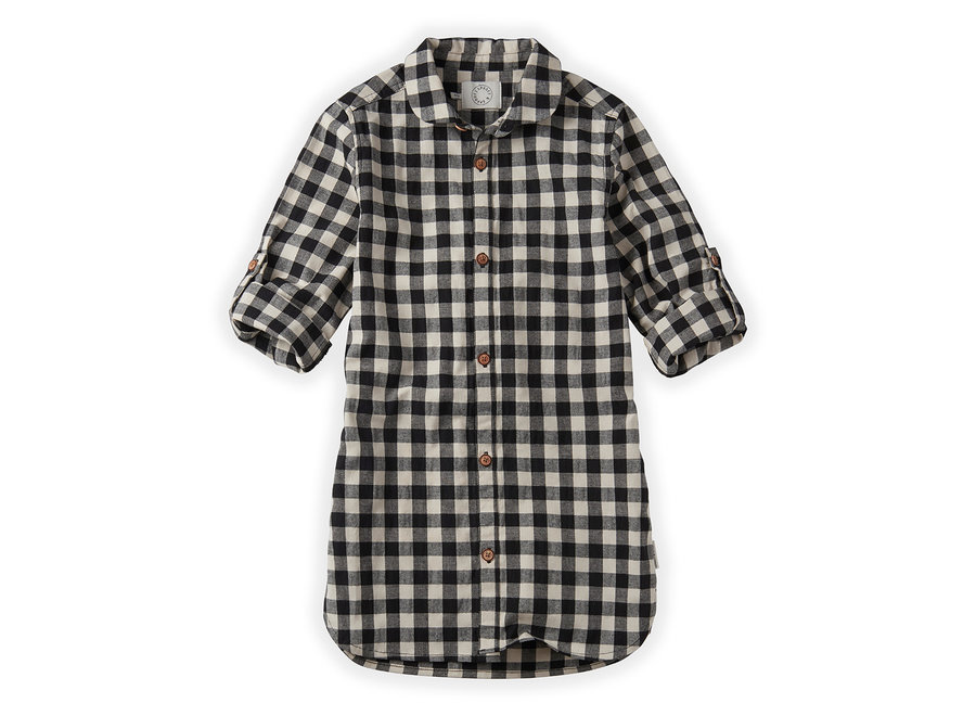 Sproet & Sprout - Shirt dress Block Check