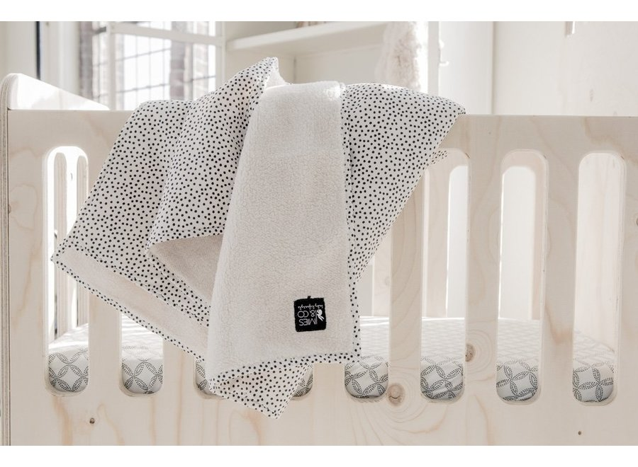 Mies & Co - Soft Teddy Blanket - Cozy Dots