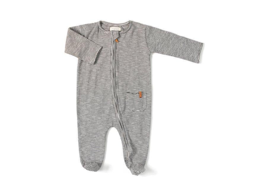 Nixnut - Zipp Onesie - Stripe