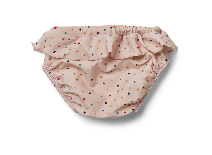 Liewood - Elise Baby Girl Swim Pants - Confetti Mix