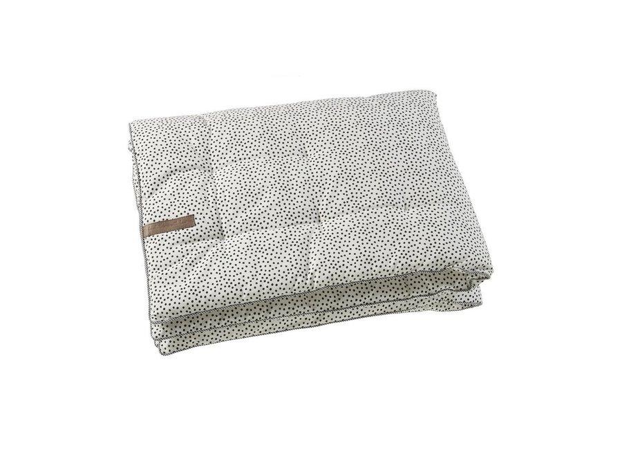 Geboortelijst Annelies - Mies & Co - Play Blanket - Cozy Dots - Off White