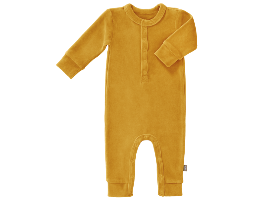 Fresk - Pyjama Velours zonder voet - Mimosa