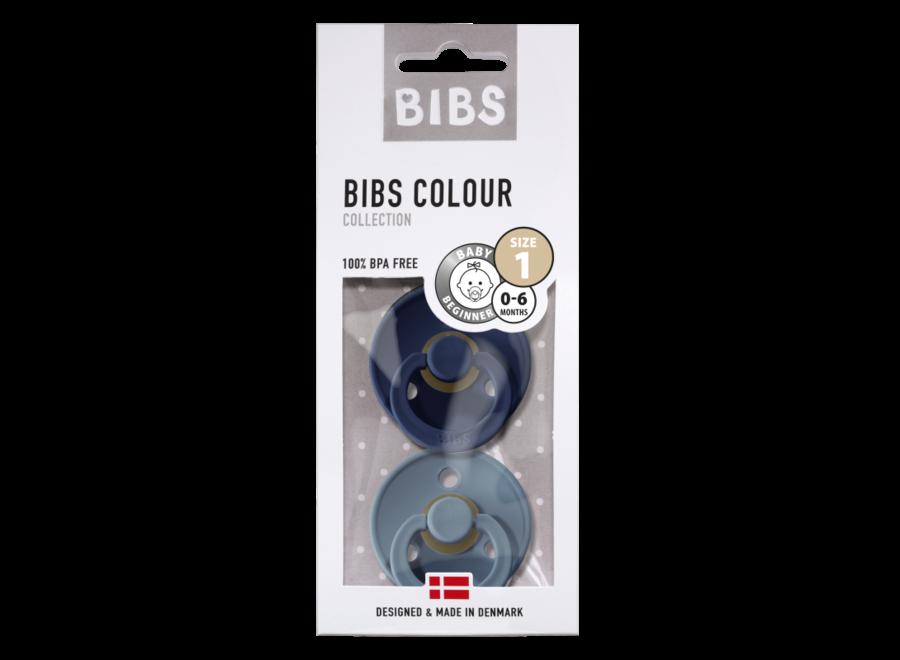 Geboortelijst Stéfanie - BIBS - Fopspeen Blister Deep Space / Petrol T1