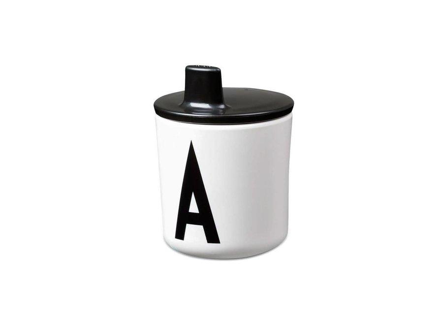 Geboortelijst Stéfanie - Design Letters - Drinktuit 'Black'