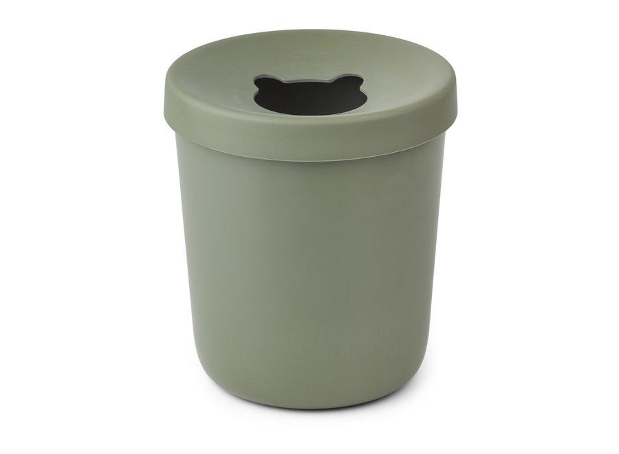 Liewood - Evelina trash bin - Faune green