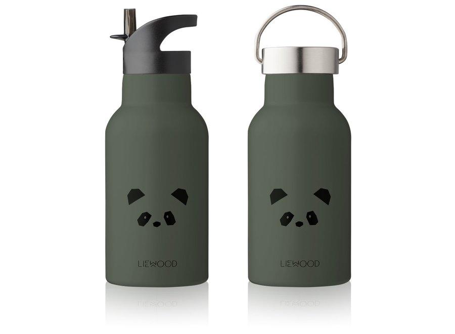 Liewood - Anker Bottle - Panda Hunter Green