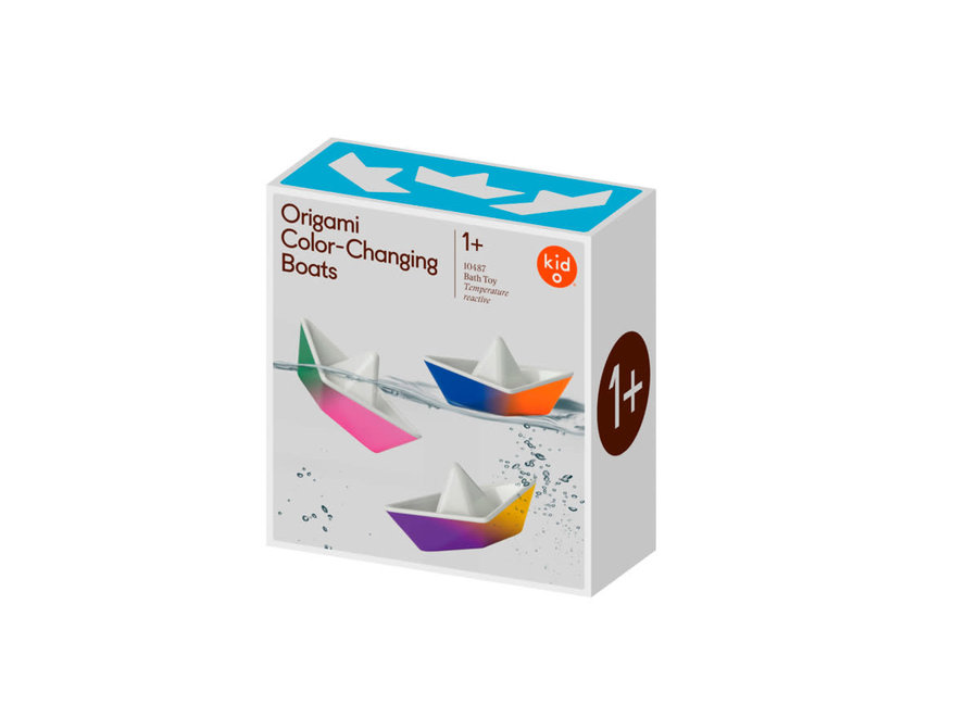Copy of Kid O - Origami Color Changing Boats