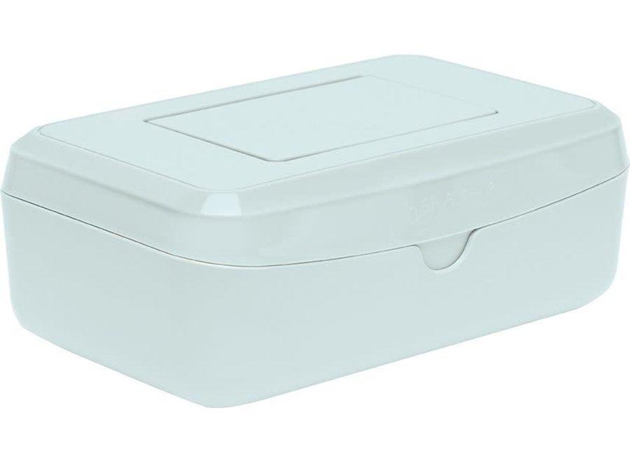 Geboortelijst Annelies - Bébéjou - Easy wipe box - Sky Green