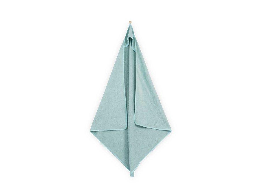 Geboortelijst Serafine - Jollein - Badcape Velvet Terry Soft Green