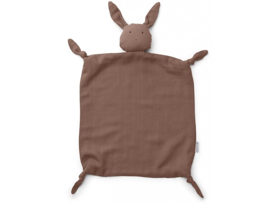 Liewood - Agnete Cuddle Cloth - Rabbit Dark Rose