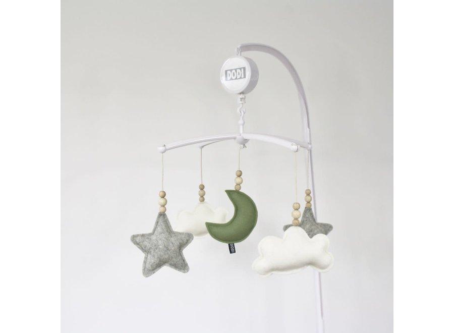 Geboortelijst Annelien - Dodi for kids - Muziek mobiel Moon - Hout
