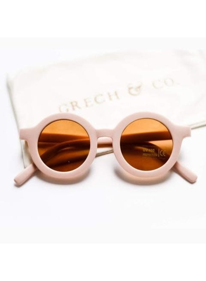 Grech & Co - Sustainable Kids Sunglasses - Shell
