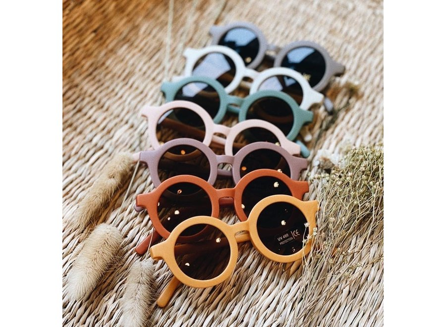 Grech & Co - Sustainable Kids Sunglasses - Burlwood