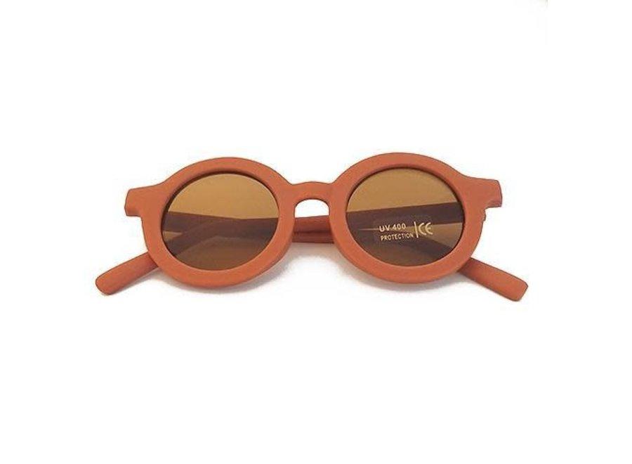 Grech & Co - Sustainable Kids Sunglasses - Rust
