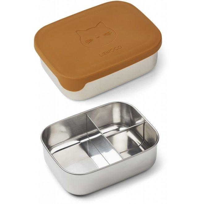 Liewood - Arthur Lunchbox - Cat Mustard