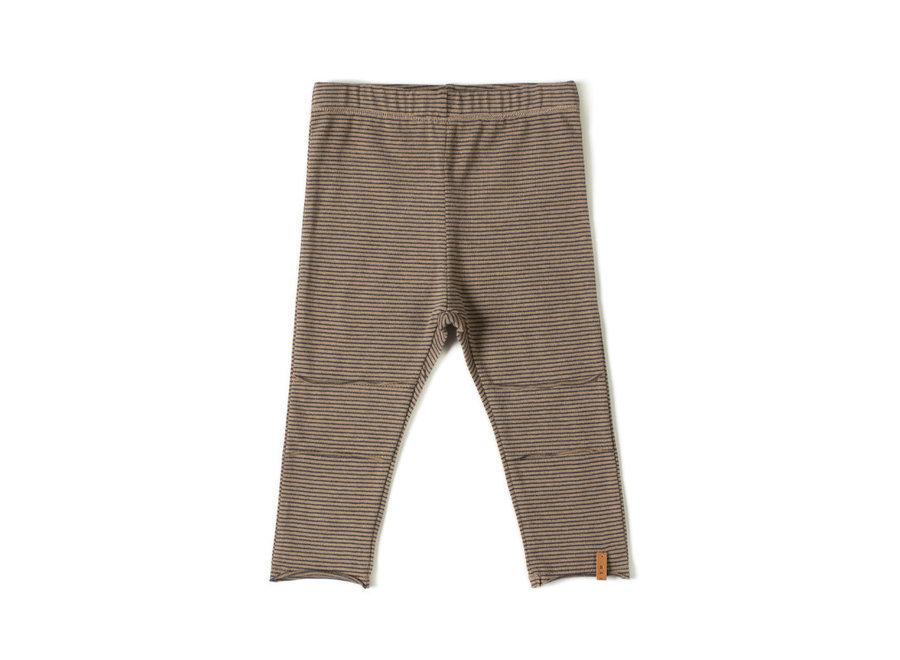 Nixnut - Tight Legging - Olive stripe