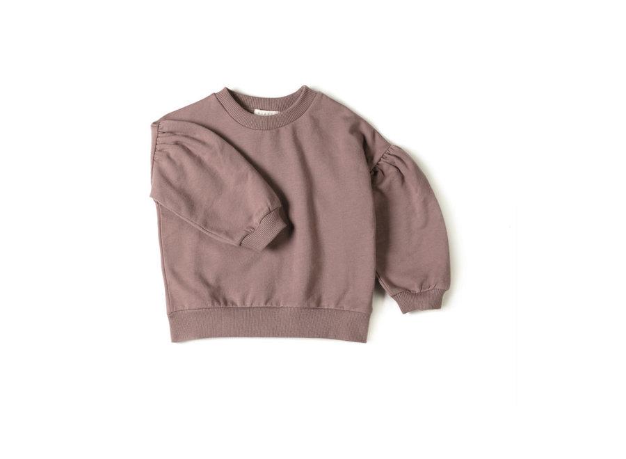Nixnut - Lux sweater  - Mauve