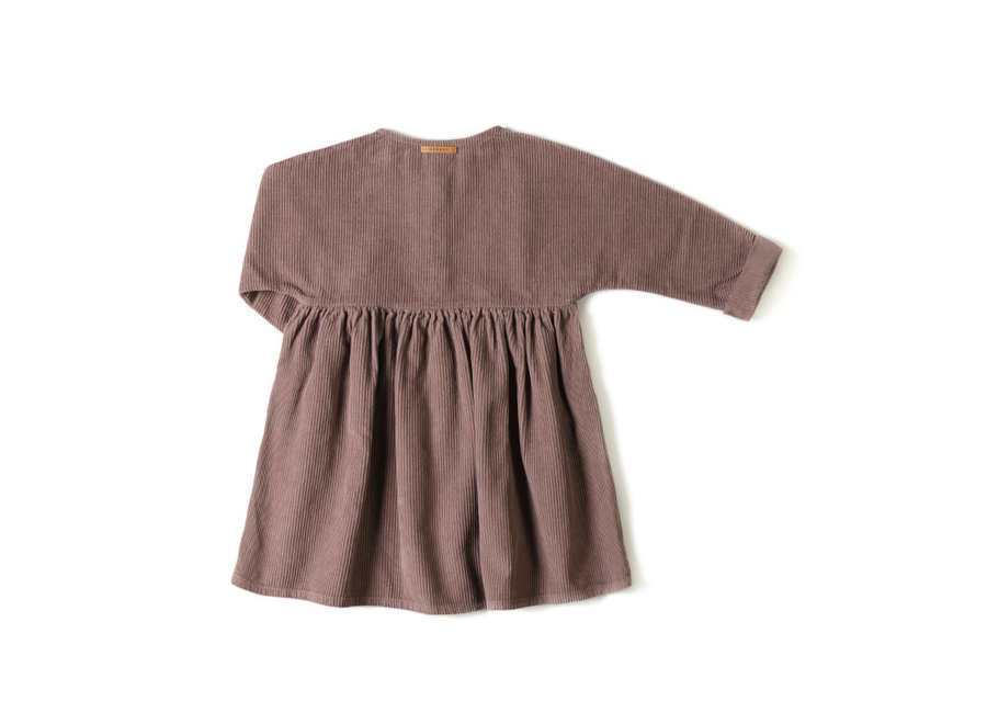 Nixnut - Horn Dress  - Mauve
