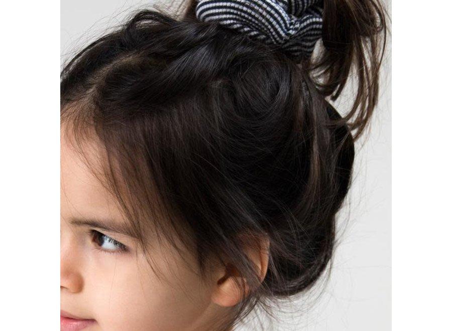 Little Indians - Scrunchie - Small Stripe - Rib