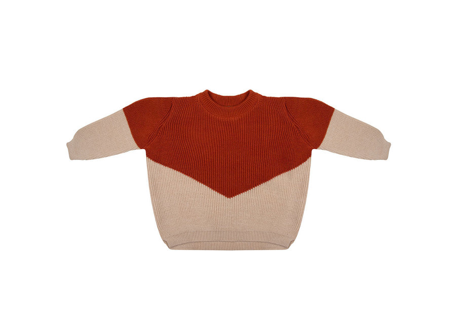 Little Indians - Knit Sweater - Picante