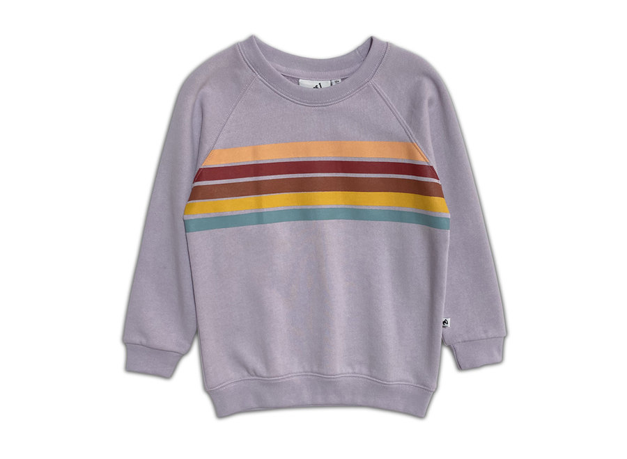Geboortelijst Serafine - Cos I Said So - Sweater Rainbow - Orchid 80/86 (12 - 18 maand)