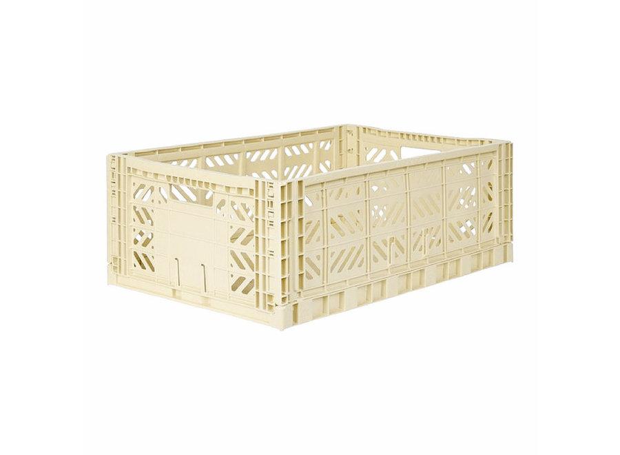Lillemor - Folding Crate 'Banana' - Maxi