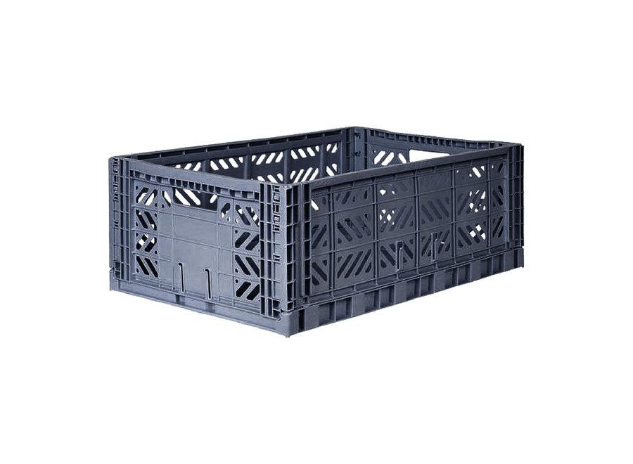 Copy of Lillemor - Folding Crate 'Pale Blue' - Maxi