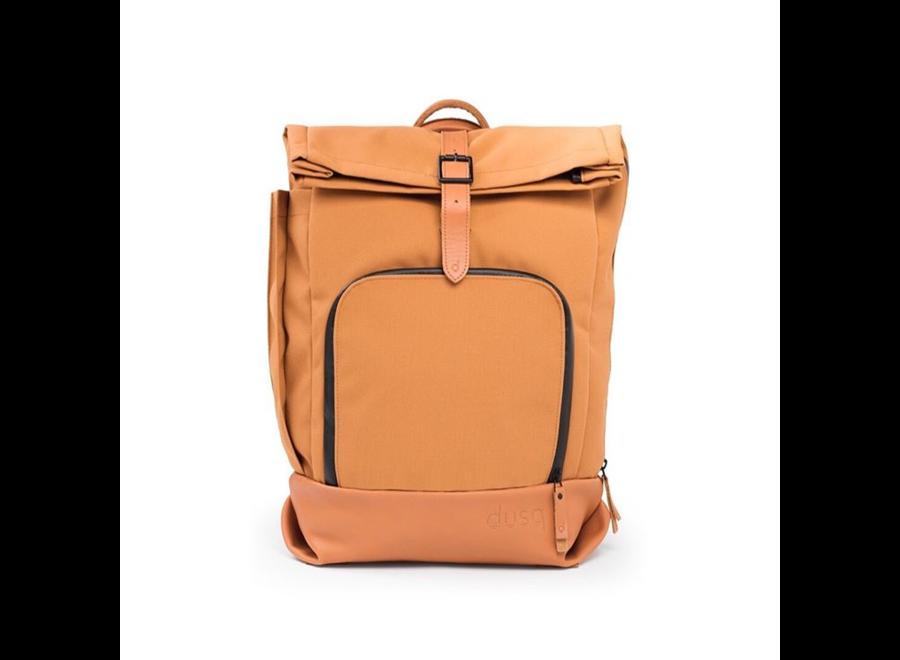 Geboortelijst Veerle -  DUSQ - Family Bag | Canvas | Sunset Cognac