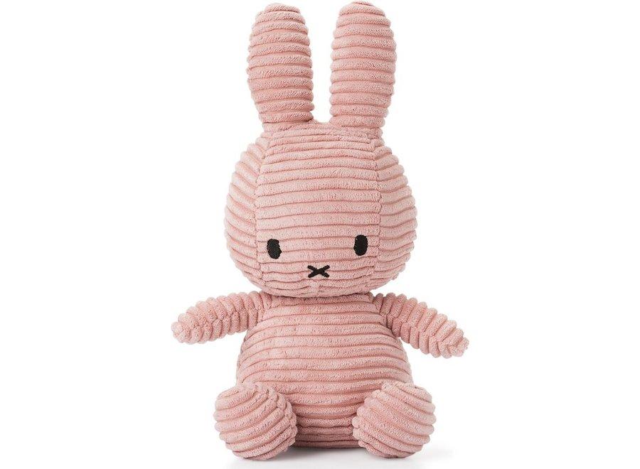 Nijntje - Miffy Corduroy Pink - 24cm