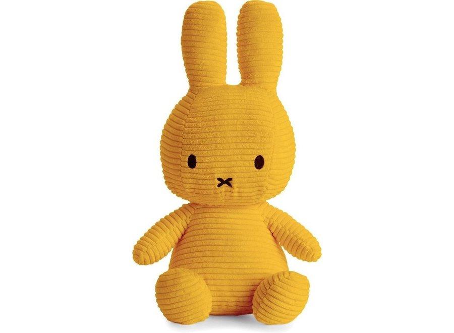 Nijntje - Miffy Corduroy Yellow - 33cm