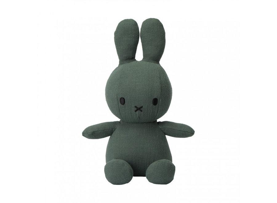 Nijntje - Miffy Sitting Mousseline Green - 23cm