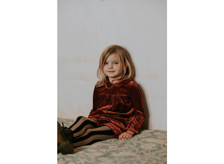 Sproet & Sprout - Dress Velvet Rib