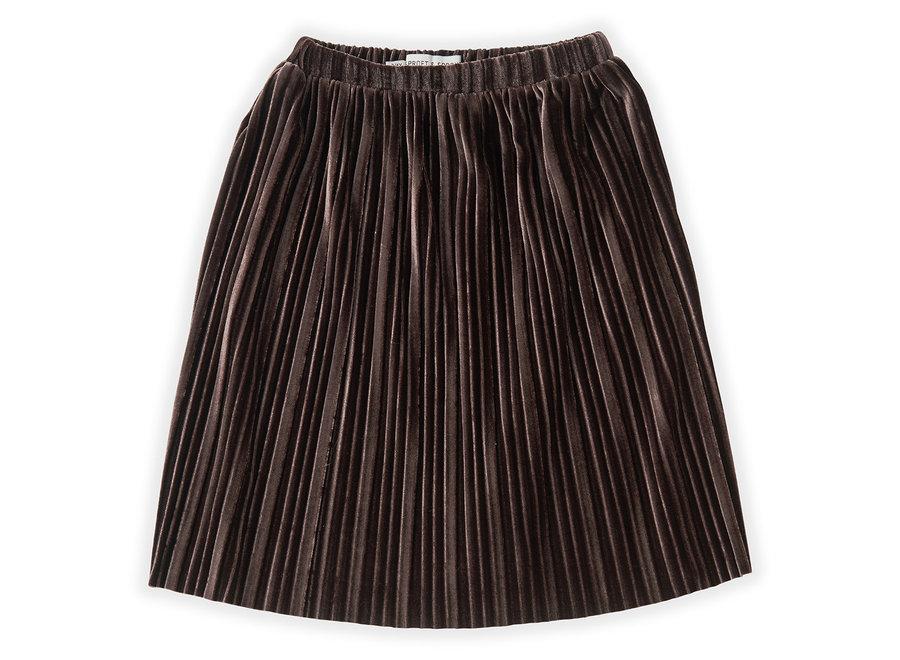 Sproet & Sprout - Skirt Velvet Pleats