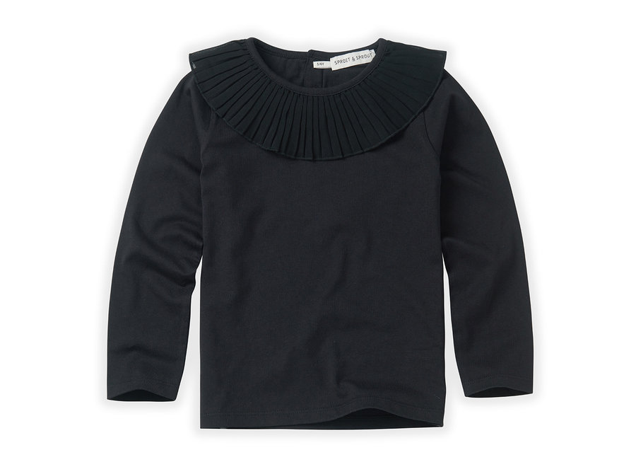 Sproet & Sprout - T-shirt collar Black