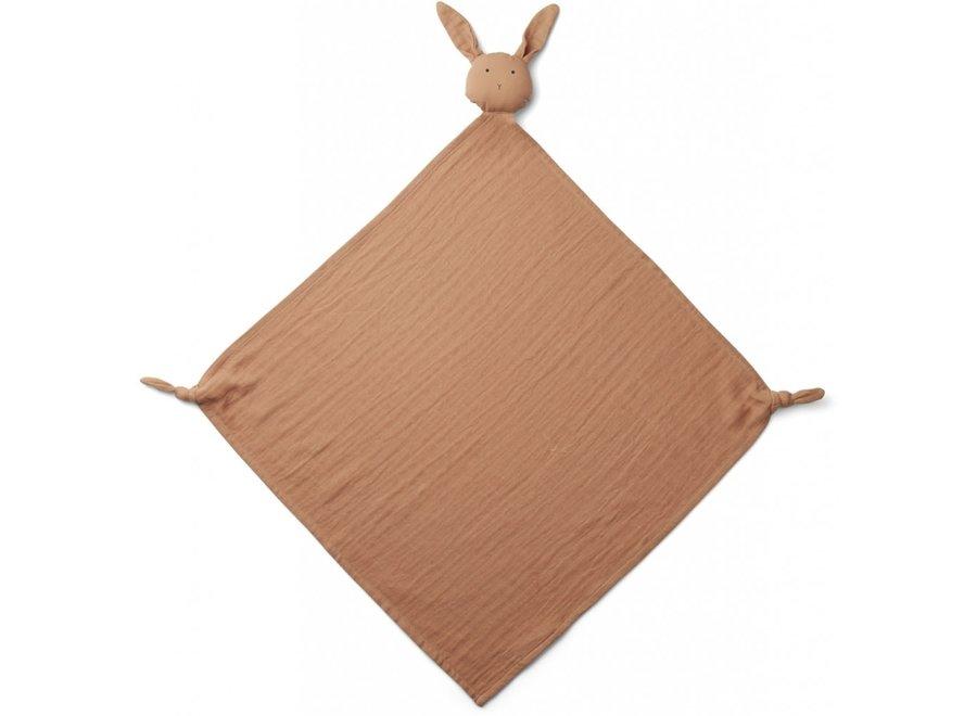 Liewood - Robbie Multi Muslin Cloth - Rabbit Terracotta