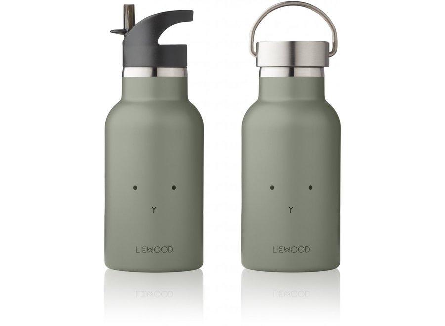 Geboortelijst Katia - Liewood - Anker Bottle - Rabbit Faune Green