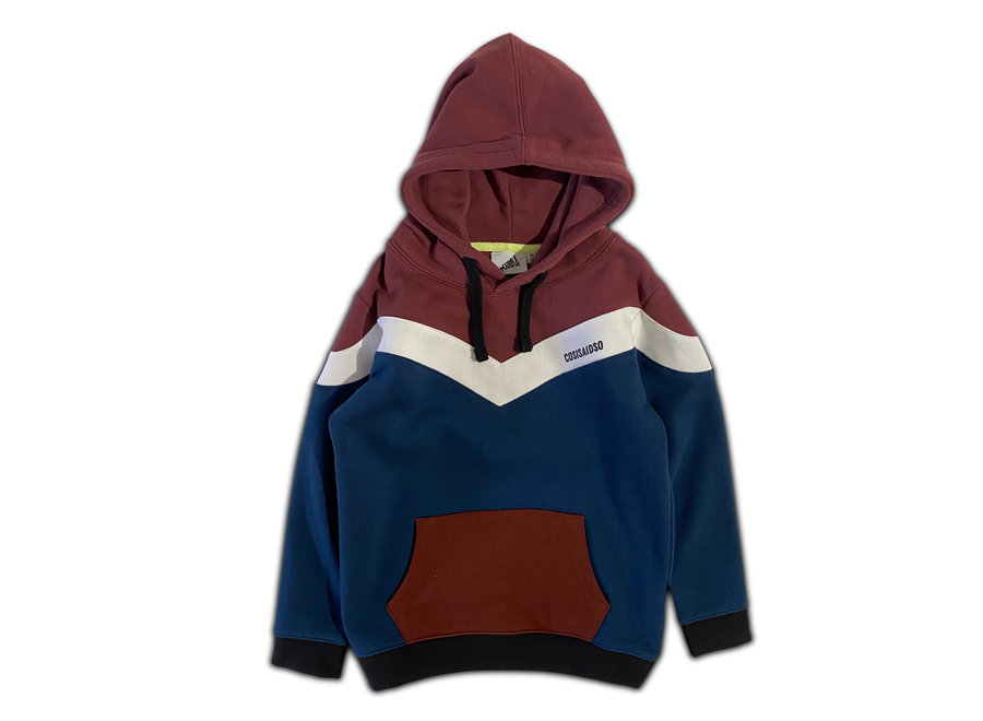 Cos I Said So - Hoodie Colorblock - Roan Rouge