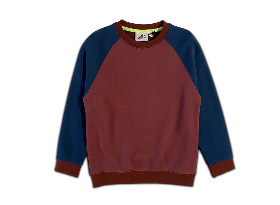 Cos I Said So - Sweater Colorblock - Roan Rouge