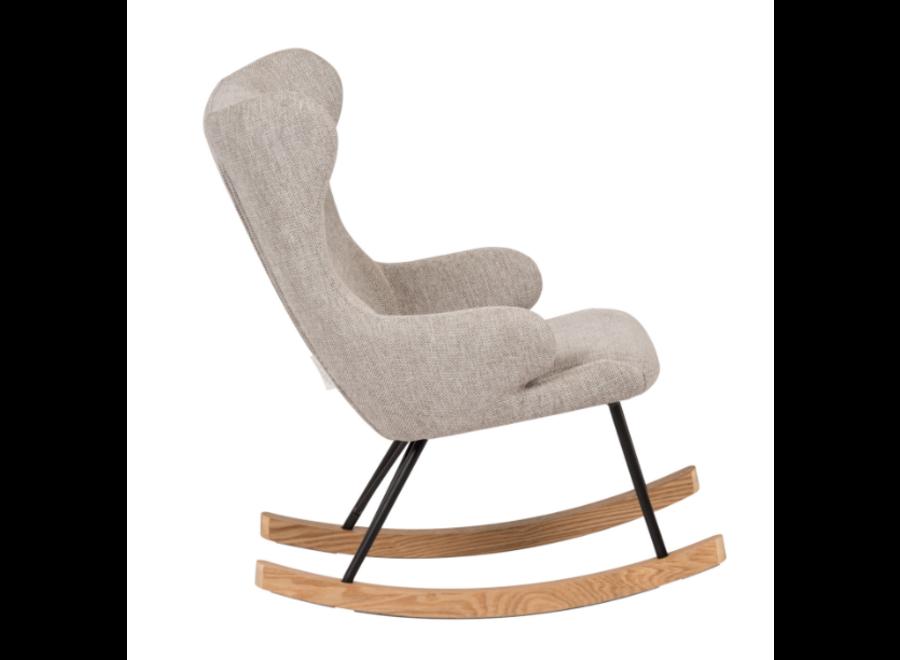 Copy of Geboortelijst Katia - Quax - Rocking Chair -  Soft Grey - Deel 1