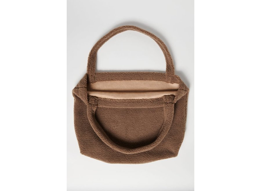 Studio Noos - Brown Chunky Teddy Mom Bag