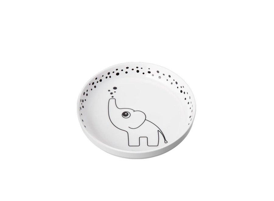 Copy of Geboortelijst Isabelle - Done By Deer - Dots Yummy Plus Plate Blue